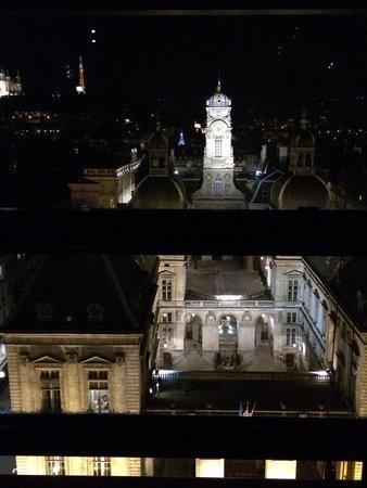 Opéra National de Lyon : Vue depuis la verrière