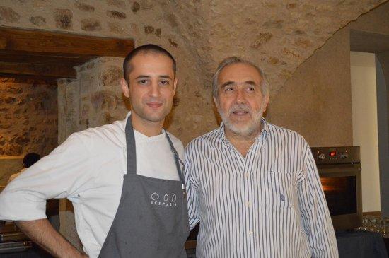 Palazzo Seneca: Owner Vincent & Chef Fillipo
