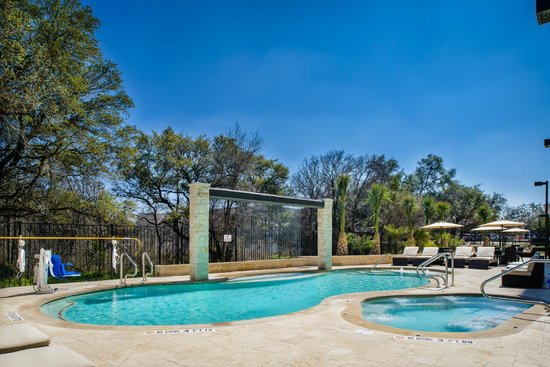 Holiday Inn Express Hotel & Suites Austin NW - Arboretum Area: Resort Style Pool with Cabanas