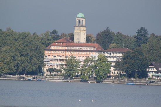Hotel Bad Schachen: vista do hotel de Lindau