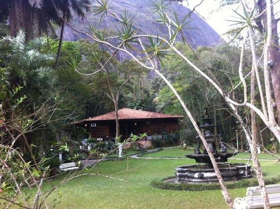Hotel Pedra Bonita: Saia do quarto! E curta a natureza!