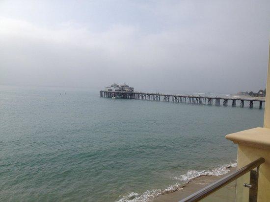 Malibu Beach Inn: View from our patio.