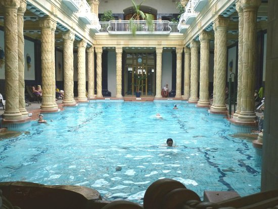 The Central Swimming Pool Swim Caps Required Picture Of Gellert Spa Budapest Tripadvisor