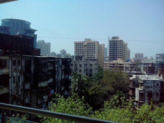 Residency Sarovar Portico: View from an West facing room