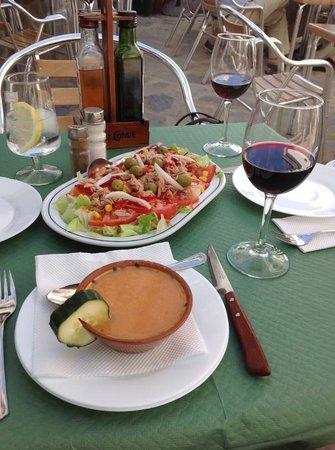 bar paco pepe: Lunch