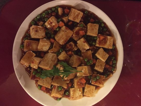 Happy Garden: Ma Po Bean Curd....so soft, so delicious.