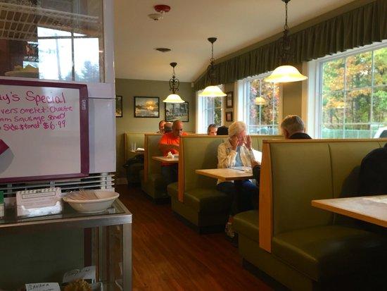 Newell Post Restaurant From The Front Door