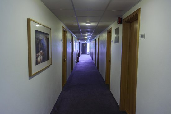 Hotel Hofn: Second Floor Hall