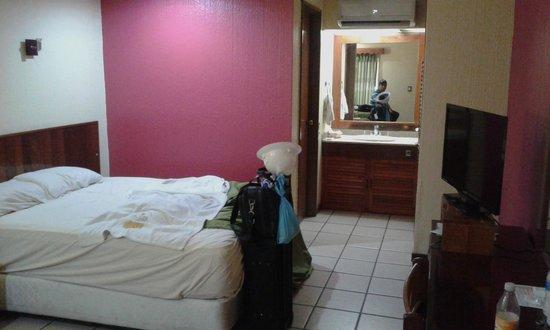 Hotel Los Andes: La habitacion esta decente pero algo vieja