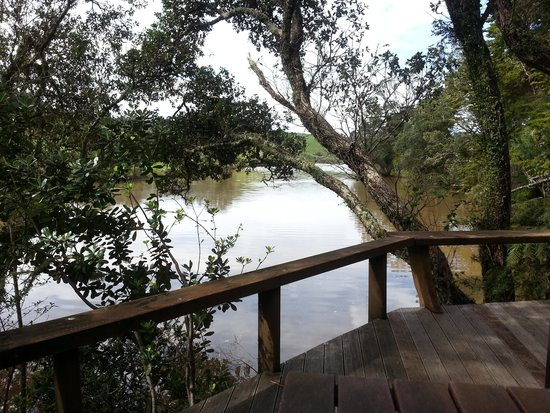 Magic Cottages at Takou River: from the deck