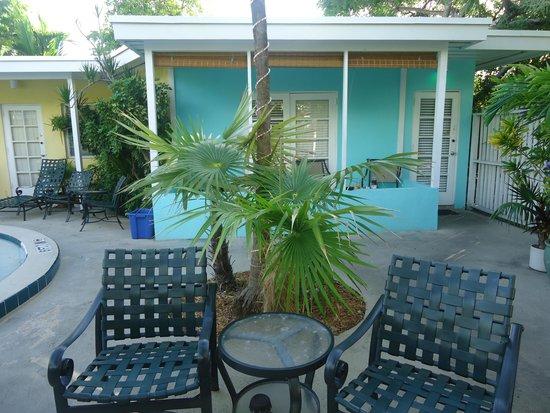 Alexander Palms Court: Our corner of Key West
