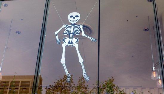 halloween window decoration october 2014 louise m davies symphony hall san francisco box san francisco office
