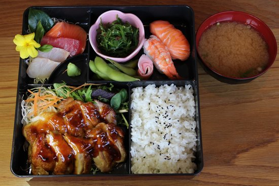 Tomi Japanese Restaurant Bento Box