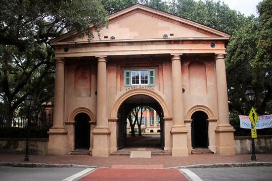College of Charleston : une des entrees