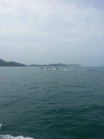 ferry to koh yao yai island
