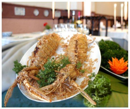 Song Ngu fried mantis shrimp with garlic - Picture of Song Ngu ...