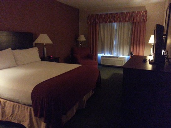 My Room at the Holiday Inn Express Hotel & Suites Reno