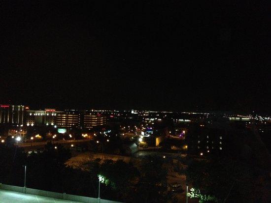 Aloft Oklahoma City Downtown Bricktown : view from top floor