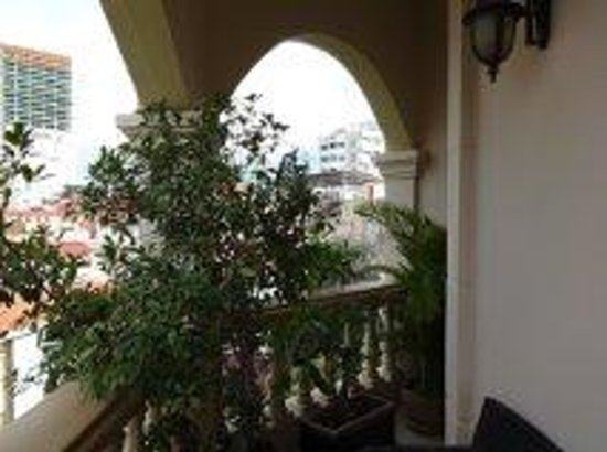 Anise Hotel: Balcony view room 303