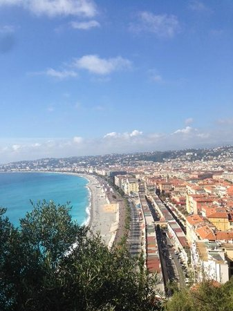 Nice Cycle Tours : Nice view from Castle Hill