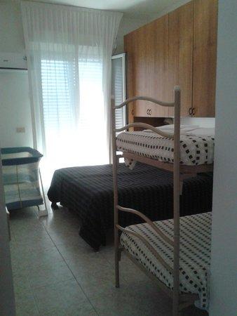 Beach Suite Hotel : camera da letto