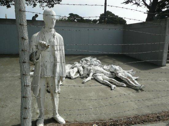 Holocaust Memorial near the Legion of Honor
