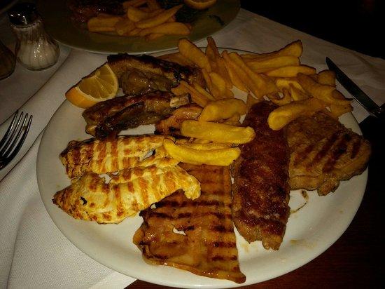 Ristorante Pizzeria Vecio Decimo : Grilled meats