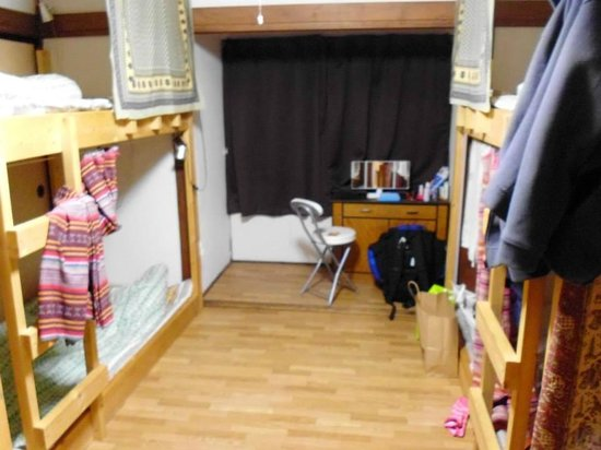 Emina backpackers: the dorm