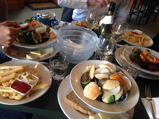 Carey's Bay Historic Hotel : Lunch at Carey's Bay