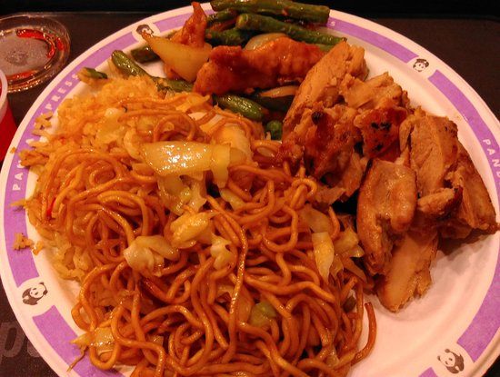 Chinese food picture of panda express las vegas for Asian cuisine express