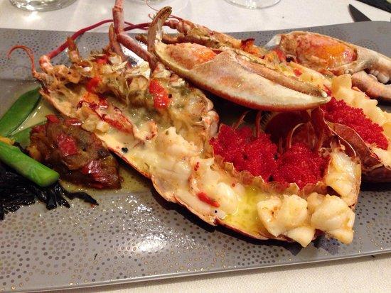 L'Oceanic: Lobster in butter