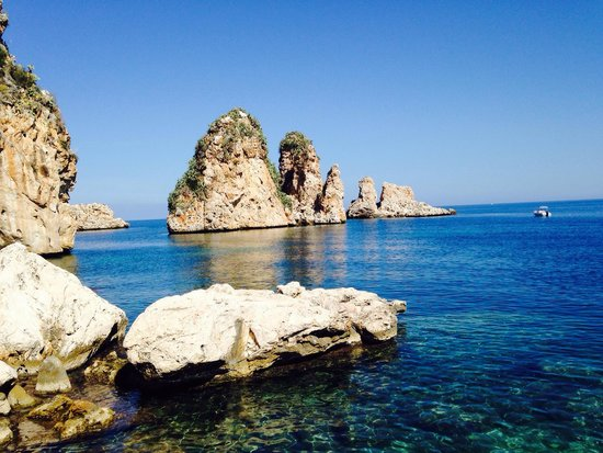 Scopello, Italia: Mare