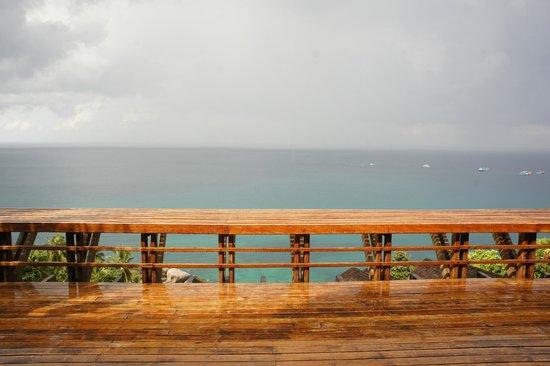 Thipwimarn Resort: บริเวณที่ทานอาหาร