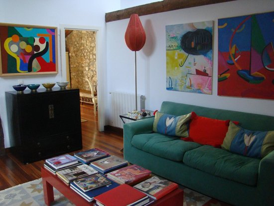 Landarte: salon intérieur