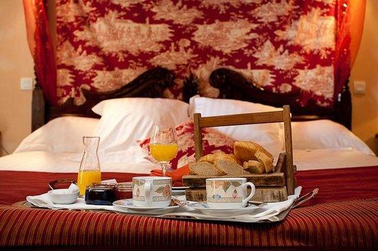 les Hauts de Sainte Maure : petit dejeuner