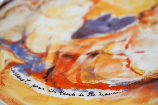 les Hauts de Sainte Maure : ASSIETTE