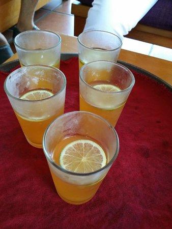 Bamboo Village Beach Resort & Spa: Welcome drink