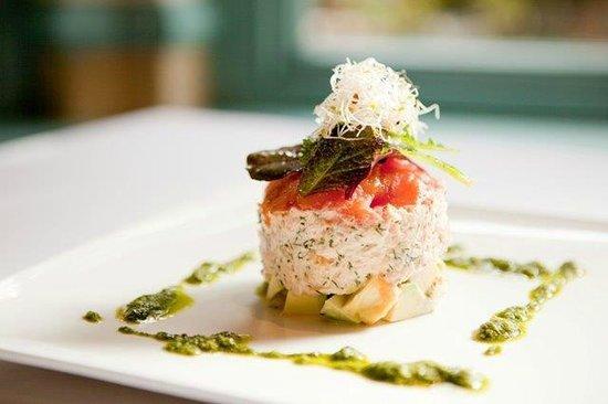 Monneaux Restaurant: Salmon Trout Mousse