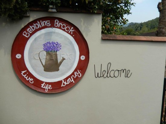 Babbling Brook Bed and Breakfast: When you arrive....
