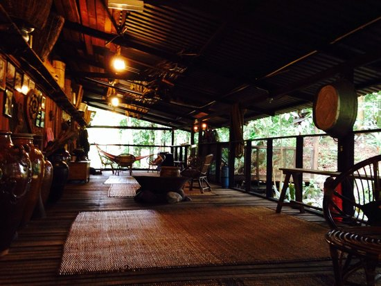 The Kebun: The longhouse