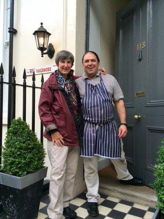 Innkeeper Mark Connor at Lynton Hotel London Ltd.
