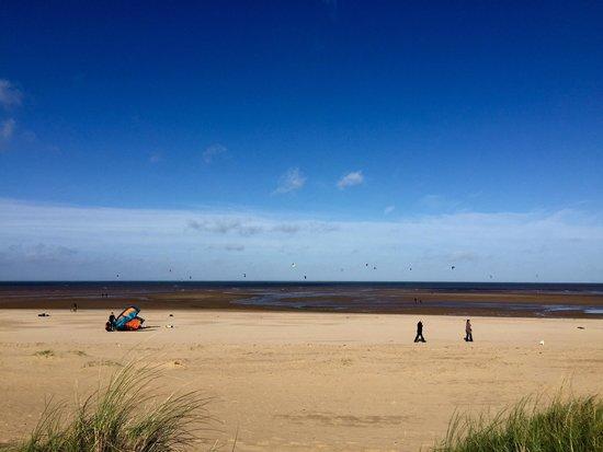 Hunstanton beach in October