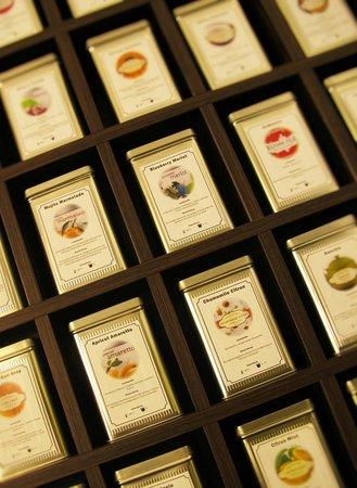 Cafe CaT Coffee and Tea: Große Teeauswahl