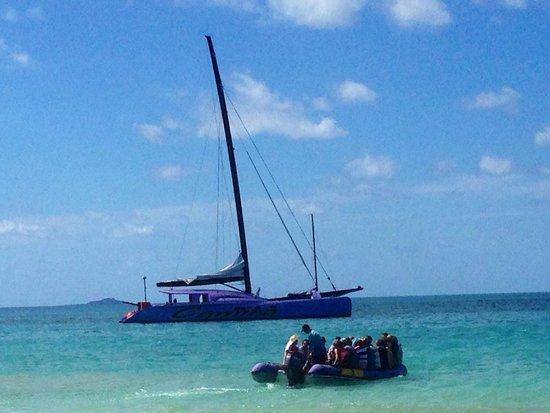 Cruise Whitsundays - Day Cruises : The beautiful camira sailing trip At whitehaven beach