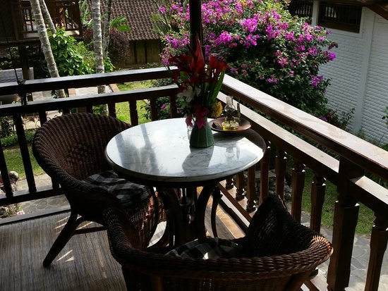 Puri Lumbung Cottages: Lumbung Terrace