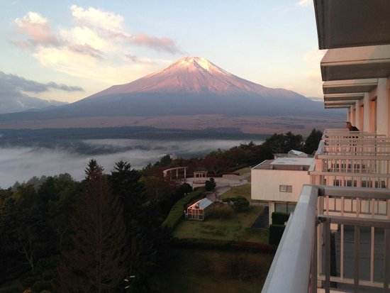 Hotel Mt. Fuji : View from our balcony