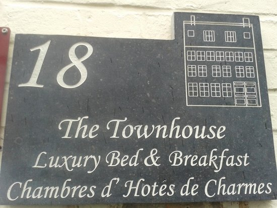 The Townhouse : We had a special visit at this address!