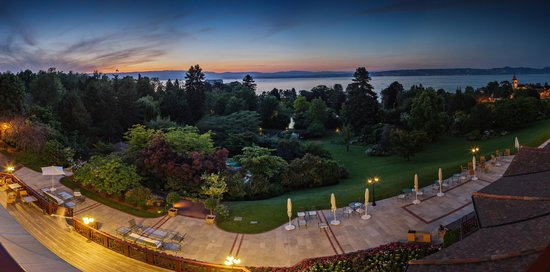 Hotel Ermitage - Evian Resort: Hôtel Ermitage Evian - vue sur le lac Léman