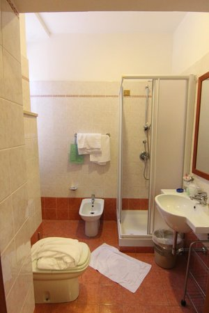 Hotel Orlanda: Ванная комната