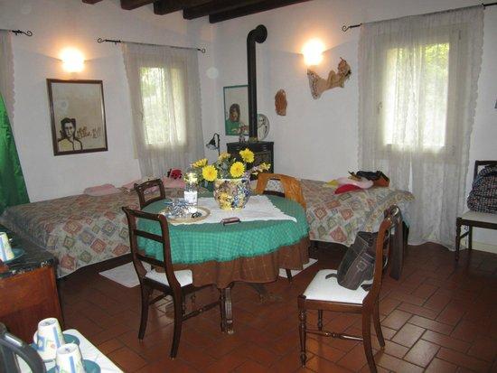 Il Rustico Bed & Breakfast: Schlafbereich für 2 Kinder